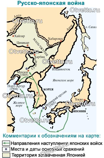 русско-японская-война